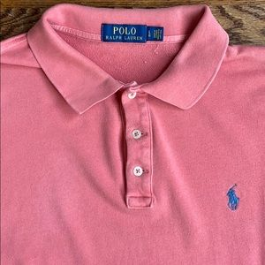 Polo by Ralph Lauren long sleeve polo shirt, pink